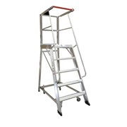5 Step Order Picker Ladder - 1.39m