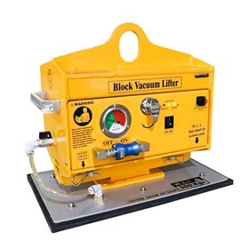 Vacuum Block Lifter 380kg | AVBL38, Battery-operated vacuum lifter.