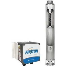 Low Flow Solar Bore Pump Pack | Fhoton 10FDSP-0.55KW-HR