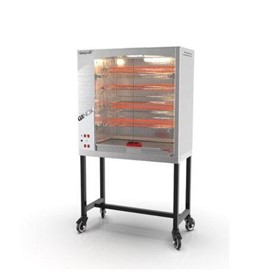 Spit Roast Rotisserie Oven | GINOX 4 Electric