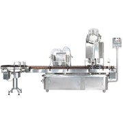 Linear Liquid Filling, Capping and Sealing Machine – LINOFIL Series