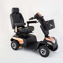 10kph 4 Wheel Mobility Scooter | Invacare Pegasus PRO