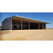 Open Front Machinery Shed with Cantilevered Canopy | 30m x 48m x 7m
