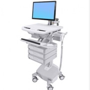 Telemedicines I Styleview SV44 Powered Medical Cart with LCD Arm