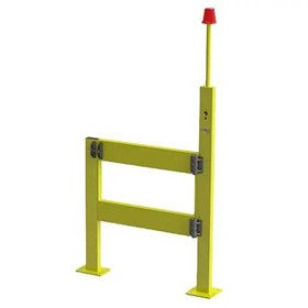 Verge Safety Gate Barriers with Warning Light & Signal - BV061