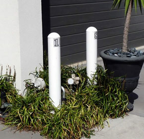 Gas Meter Protection Bollards