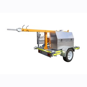 Trailer Mounted Mast - Medium