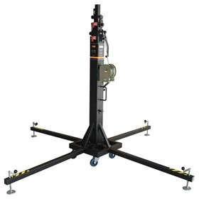 6.5m / 300kg Top Load Towerlift – Black