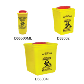 Sharps Disposal Safe