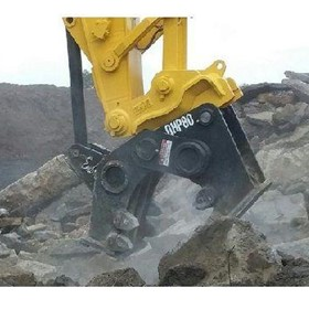 Quickhitch Pulveriser model QHP80 for 30-40t Excavators | Muncher