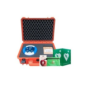 Manufacturing & Construction Defibrillator Package