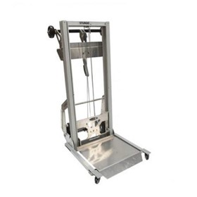 Mini Aluminium Hand Stacker