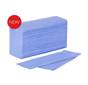 Blue Multifold Towel | 3000s ctn – 1411 | Livi Essentials