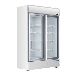 Glass 2 Door Drinks Refrigerator (Swing Doors)