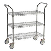 Wire 3 Shelf Trolley