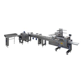 Horizontal Flow-Wrap Group Packaging Machine