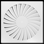 Square Ceiling Swirl Diffuser - TDF-SilentAIR
