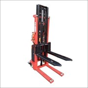 Semi-Electric Narrow Pallet Stacker 3m