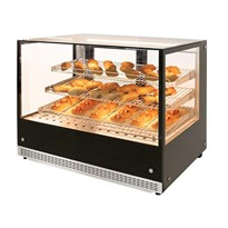 Countertop Heated Square Food Display AXH.FDCTSQ