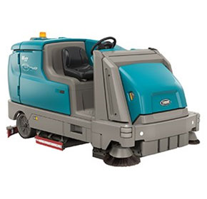 Battery Powered Ride On Sweeper-Scrubber | Tennant M17