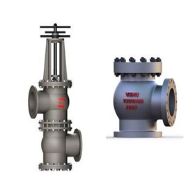 Angle Seated Slurry Valve