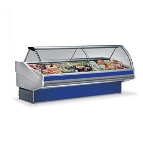 Butcher Display Case | Open Display Fridges | Panarea 250 Butcher