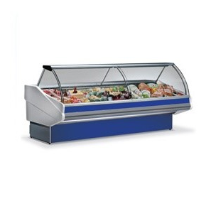 Butcher Display Case  - Open Display Fridges - Panarea 250 Butcher