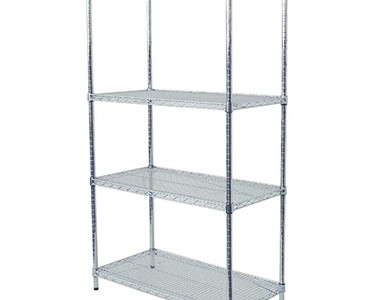 Chrome Display Shelving for General Purpose Use