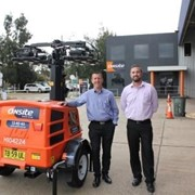 Lighting tower order highlights JLG partnership approach