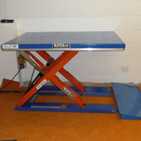 Low Profile Scissor Lift Tables - Bishamon EZE-OFF