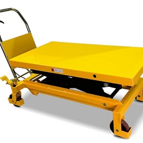 Veterinary Mobile Scissor Lift table - 500kg capacity | SLMV500