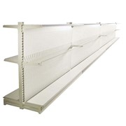 Gondola Shelving - 2.2m H x 3.6m Double Side Shelves