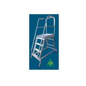 Aluminium Order Picking Ladders