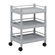 High Density Polyethylene Trolley - 3 Shelves