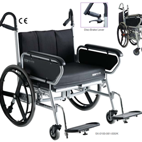 Bariatric Folding Wheelchair | Minimaxx