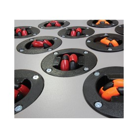 48mm Rotacaster Multidirectional Omni Wheel and Conveyor Cups
