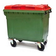 4-Wheeled Industrial Waste Bin