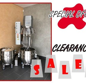 Special Offer- Clearance Sales: Planetary Mixer VMI PH1001