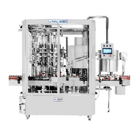 Rotary Liquid Filling, Capping and Sealing Machine – ROTOFILL Series