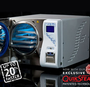 B & S Class Sterilisers with QuickSteam Technology | Midmark