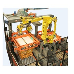 Produce Palletizer PALNB Low Level Robotic Produce