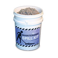 Spill Kit - Maintenance Pail with Floorsorb 5L (FSP10)