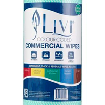 Green Commercial Wipes | Livi®