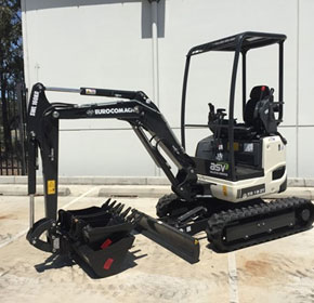 On Sale Clearance Pricing Eurocomach ES18ZT Mini Excavator