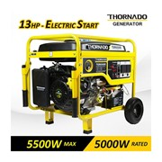 Thornado 5500 Watt Max | 5000W Rated Petrol Power 16HP Electric Start