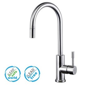Lead Free Tapware & Shower | Bianco Pull Out Kitchen Mixer