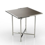 Buffet Table | Mobile Cross Cube Set Top | Square
