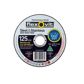 A46TBF41 Mega Inox 125x1x22 Cutting Disc