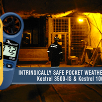 Multi-Parameter Pocket Weather Meter - Kestrel 3500-IS