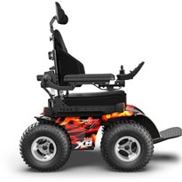 Introducing Magic Mobility's go anywhere, all terrain powerchairs.